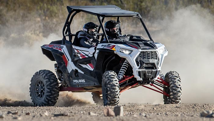 Rzr XP® 1000 Dynamix - THE DRIVING FORCE IN OFF-ROAD