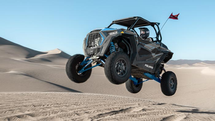 RZR XP TURBO EPS - FEEL THE THRILL OF 168 HP