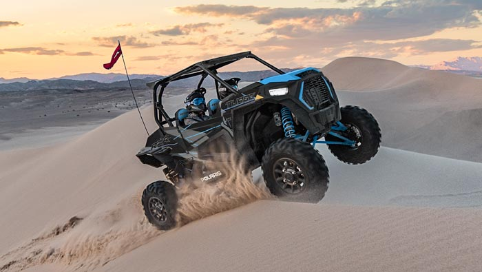 RZR XP TURBO EPS - WALKER EVANS NEEDLE SHOCKS