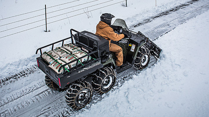 SPORTSMAN 6X6 570 EPS - Customise it for the Biggest Hunts & Most Remote Jobs